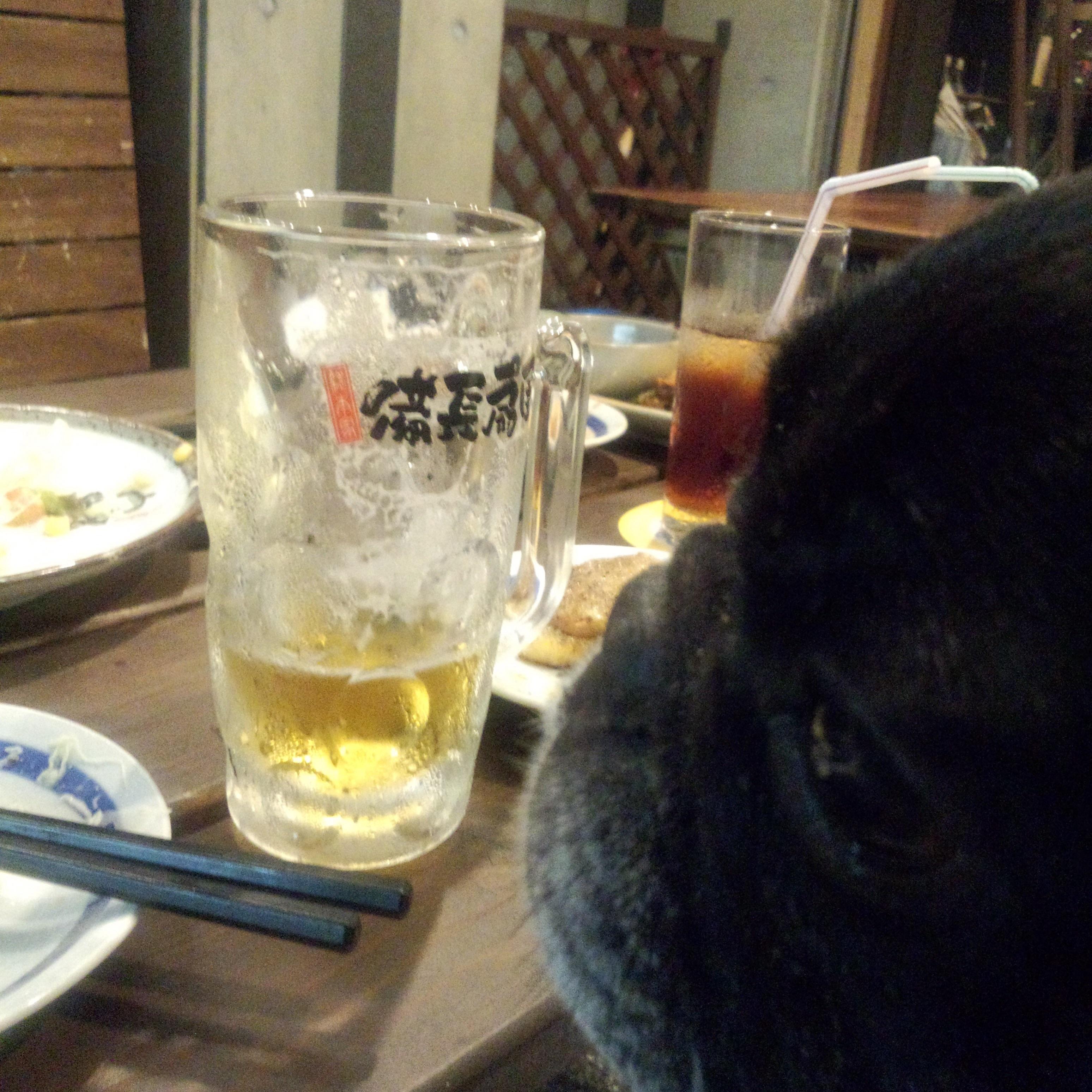 居酒屋,テラス,ワンコ